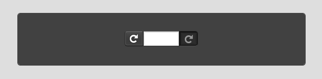 I've started recreating the address bar using only CSS3 and glyphs