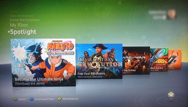 The Xbox 360 Spotlight Channel.  Beware!